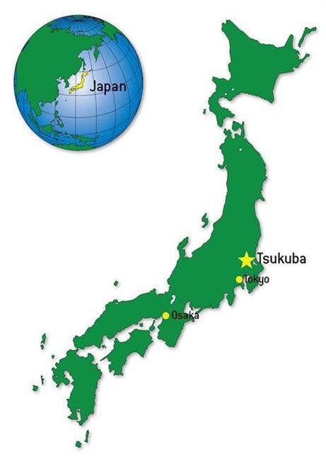 Japan Karte.Tsukuba Japan City Of Irvine