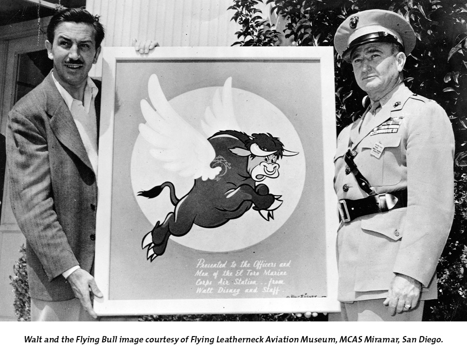 Walt and the Flying Bull Exhibition