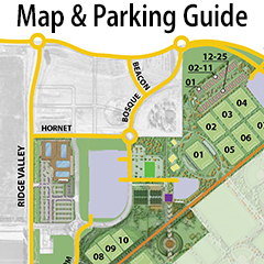 Map and parking guide