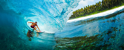 Surfing with Tom Carey