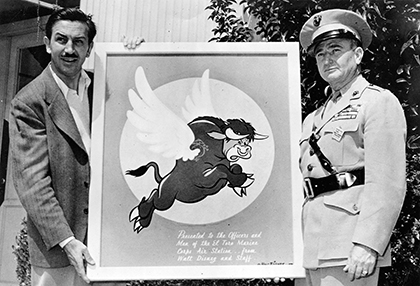 Walt and the Flying Bull