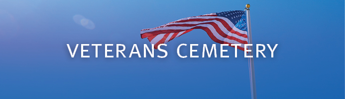 Links to web page with information featuring the Proposed Southern California State Veterans Cemetery