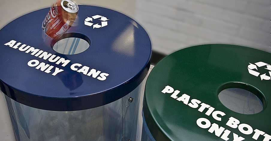 can and bottle recycling