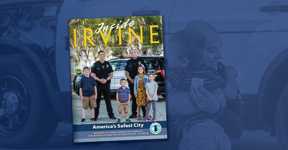 front cover of Inside Irvine